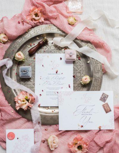 invitations au mariage sur coupelle