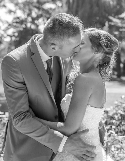 mariés noir et blanc