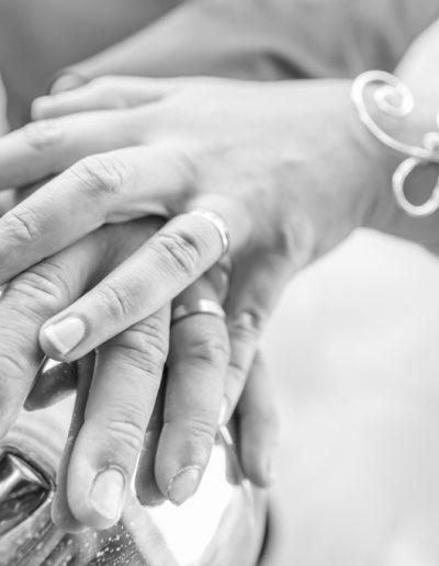 Mains des marisé